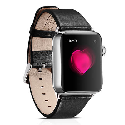 iCarer Luxury Genuine Leather Series Watchband For Apple Watch