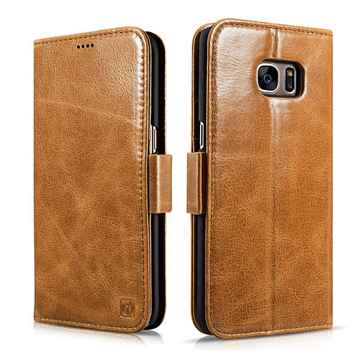 iCarer Samsung Galaxy S7 Edge Silmarillion Leather Detachable 2 in 1 Wallet Folio Case
