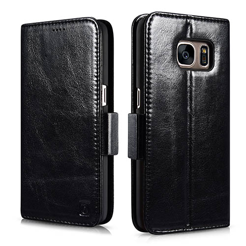 iCarer Samsung Galaxy S7 Silmarillion Leather Detachable 2 in 1 Wallet Folio Case