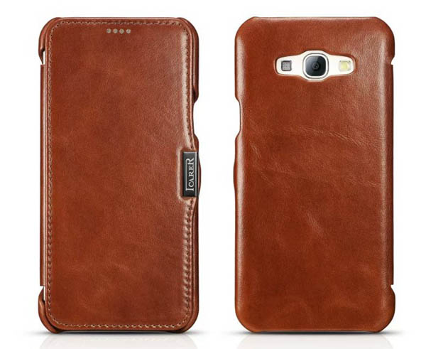 iCarer Genuine Leather Wallet Case Cover For Samsung Galaxy A8