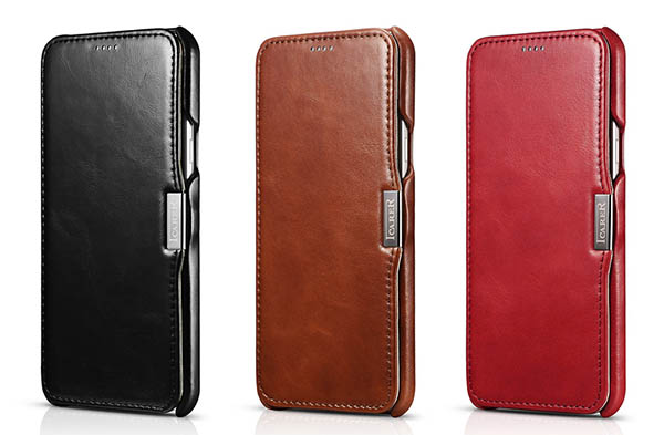 iCarer Leather Wallet Case Cover For Samsung Galaxy A8