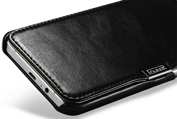 iCarer Samsung Galaxy A8 Leather Wallet Case Cover