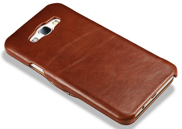 iCarer Samsung Galaxy A8 Vintage Leather Case Cover