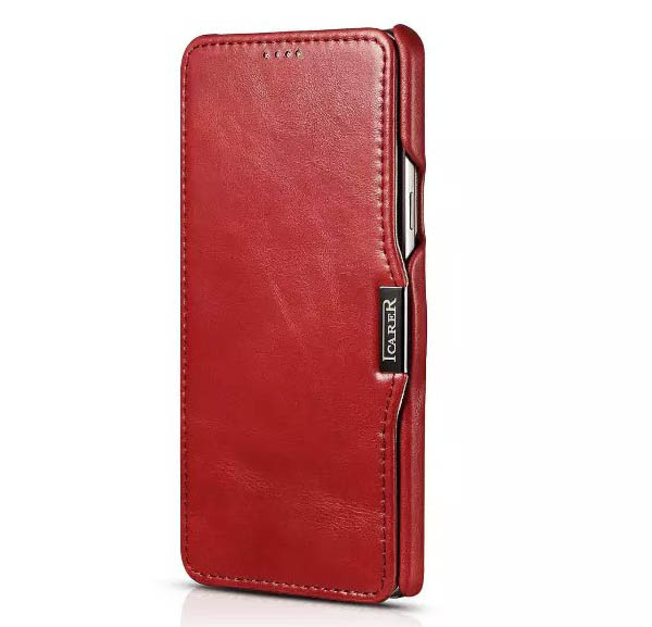 iCarer Vintage Genuine Leather Wallet Case For Samsung Galaxy Note 5