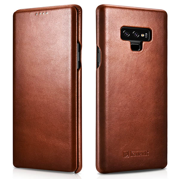 iCarer Samsung Galaxy Note 9 Vintage Genuine Leather Case