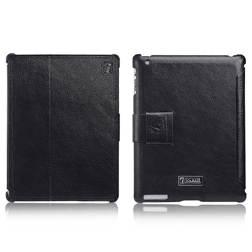 iCarer iPad 2/3/4 Honourable Series Genuine Leather Stand Case Cover