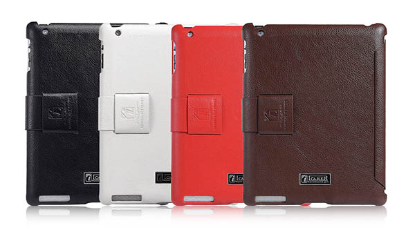 iCarer iPad 2 Honourable Series Genuine Leather Stand Case Cover