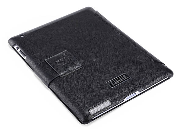 iCarer iPad 4 Honourable Series Genuine Leather Stand Case Cover