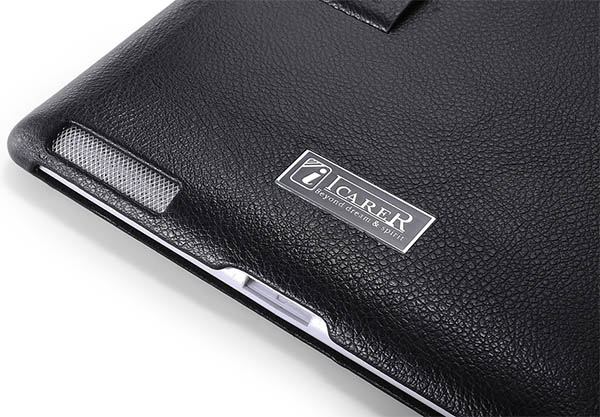 iCarer iPad 2 Genuine Leather Stand Case Cover