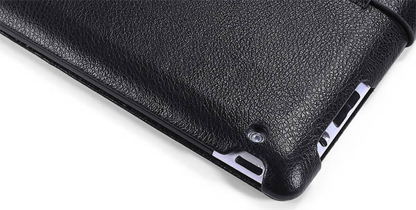 iCarer iPad 3 Genuine Leather Stand Case Cover