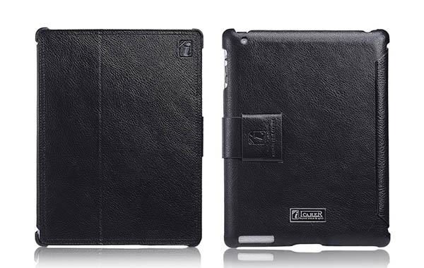iCarer iPad 4 Leather Stand Case Cover