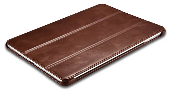 iCarer iPad 9.7 inch 2017 Vintage Side Open Genuine Leather Case