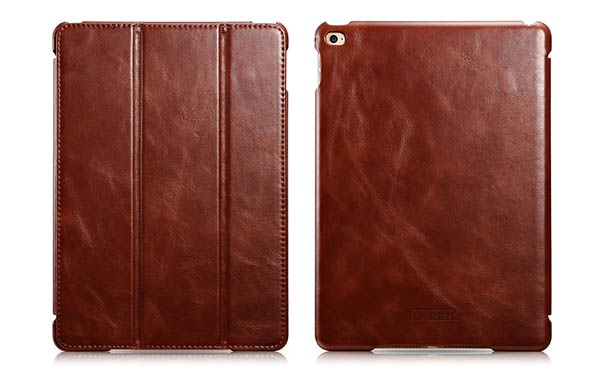 iPad Air 2 iCarer Vintage Series Leather Case Cover