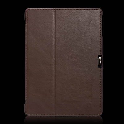 iCarer iPad Air Microfiber Series Genuine Leather Stand Case Cover