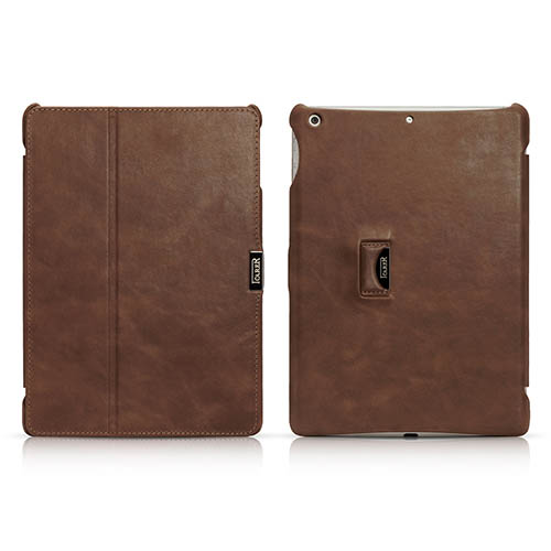 iCarer iPad Air/ iPad 5 Vintage Series Genuine Leather Stand Case Cover