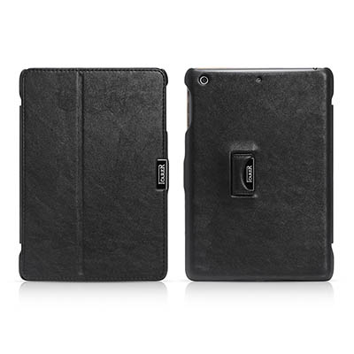 iCarer iPad Mini 1/2/3 Retina display Microfiber Series Genuine Leather Stand Case Cover