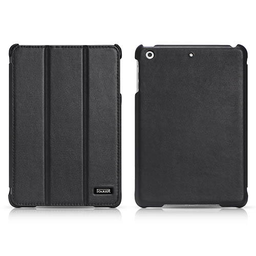 iCarer iPad Mini 1/2/3 Retina display Ultra thin Series Genuine Leather Stand Case Cover