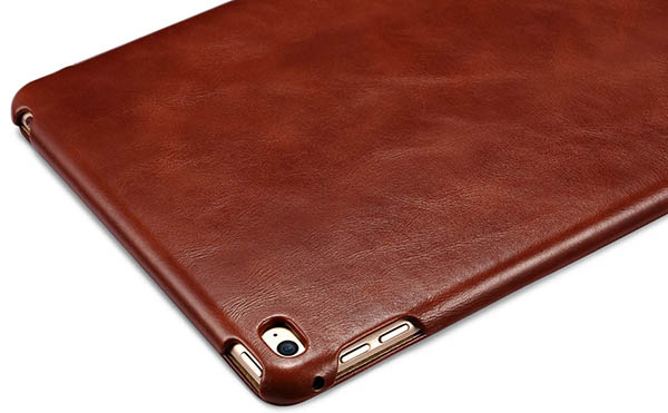 iCarer iPad Mini 4 Case folding Vintage Series Genuine Leather Stand Case Cover