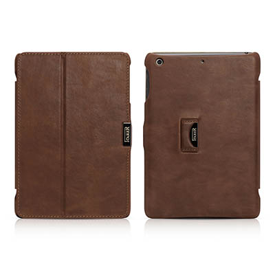iCarer iPad Mini 1/2/3 Retina display Vintage Series Genuine Leather Stand Case Cover