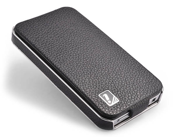 iCarer iPhone 4S Flip Genuine Leather Case Cover
