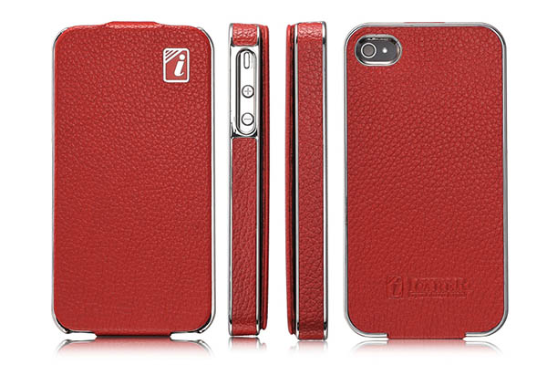 iPhone 4S iCarer Flip Leather Case Cover