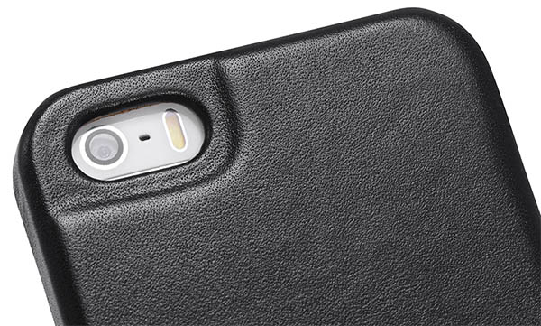 buy online e8a8a f0c9b iCarer iPhone 5/5S Luxury Series Genuine Leather Back Cover Case