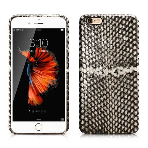 iCarer iPhone 6 Plus/ 6S Plus Snake Skin Series Back Cover Genuine Leather Case