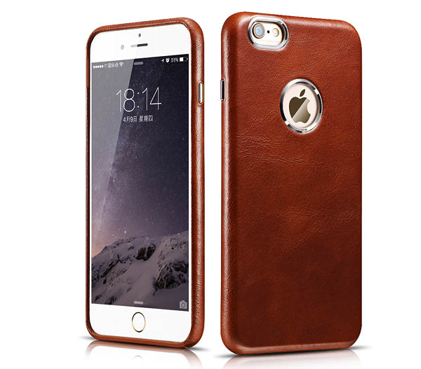 iCarer iPhone 6 Plus Transformers Vintage Genuine Leather Case