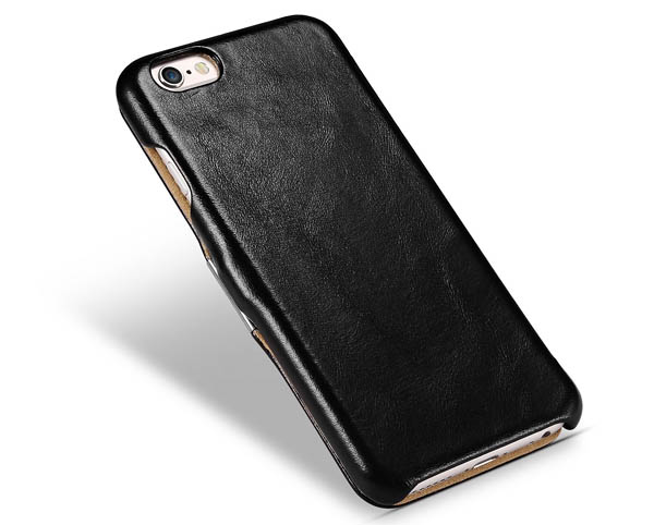 iCarer iPhone 6/6S Vintage Series Side open Genuine Leather Case Cover