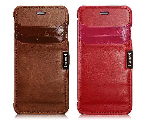 iPhone 6 iCarer Leather Case Cover