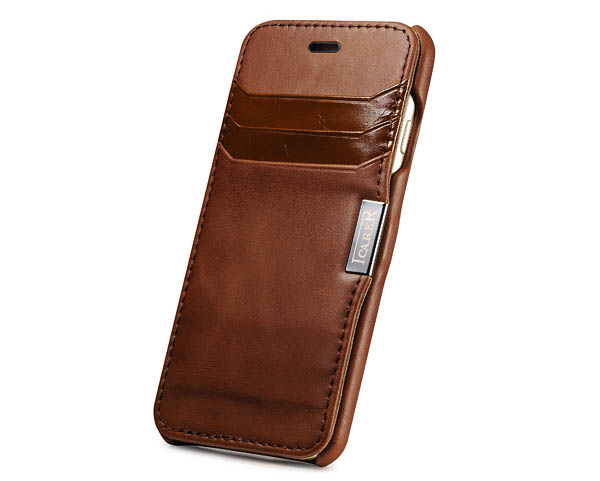 iCarer iPhone 6S Side open Genuine Leather Case Cover