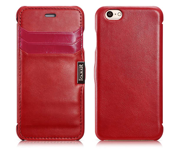 iPhone 6 iCarer Genuine Leather Case Cover