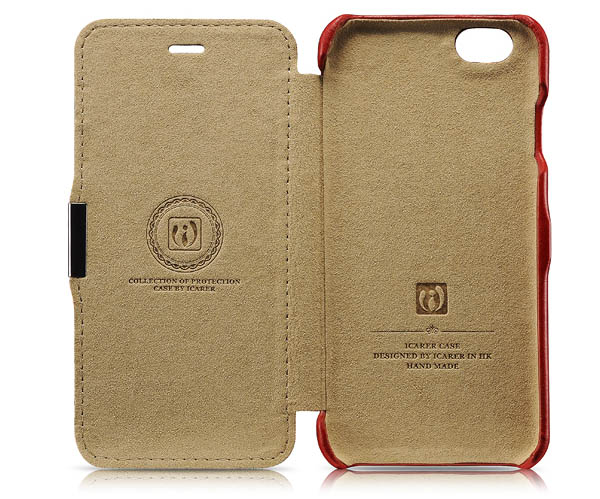 iPhone 6S iCarer Side open Card Slot Vintage Case Cover