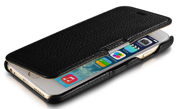 iCarer iPhone 6S Side Open Leather Case Cover
