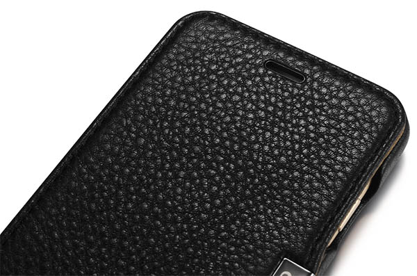 iCarer iPhone 6 Microfiber Check Leather Case Cover
