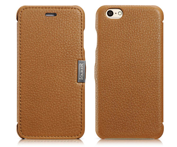 iPhone 6S iCarer Side Open Leather Case Cover
