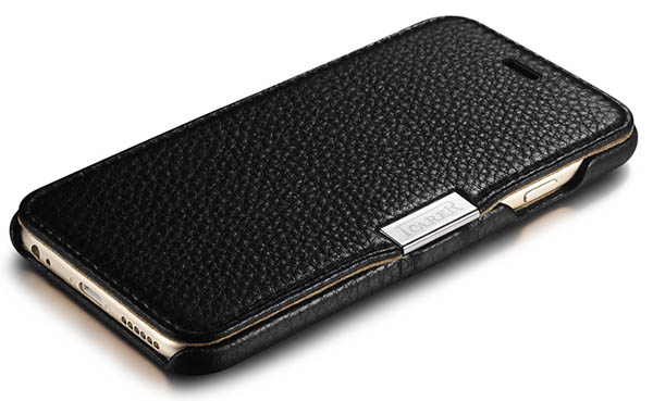 iCarer iPhone 6 Side Open Genuine Leather Case Cover