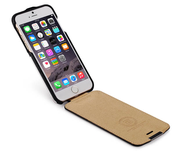 iCarer iPhone 6 Metal Warrior Litchi Pattern Case
