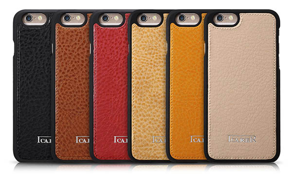 iPhone 6 iCarer Multifunctional Microfiber Card-Slot Series Side Open Leather Flip Wallet Case Cover