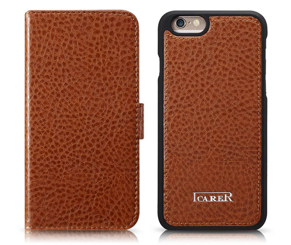 iPhone 6 iCarer Leather Flip Wallet Case Cover