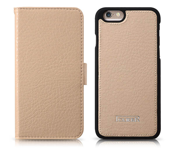 iPhone 6 iCarer Multifunctional Microfiber Card-Slot Series Leather Flip Wallet Case Cover