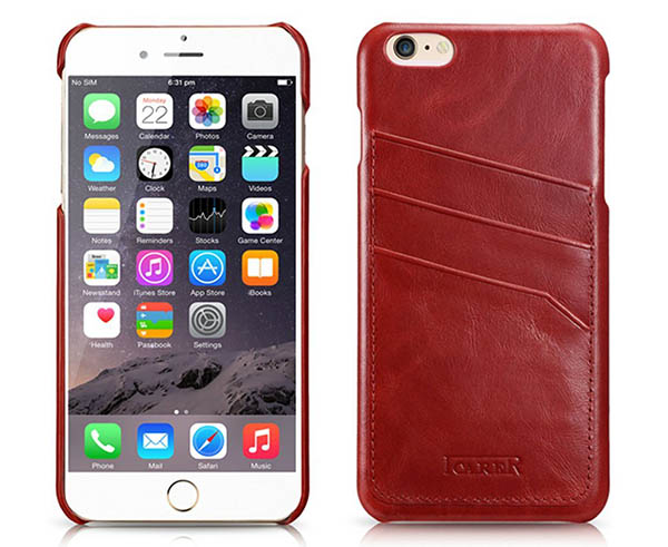 iCarer iPhone 6 Plus Leather Case