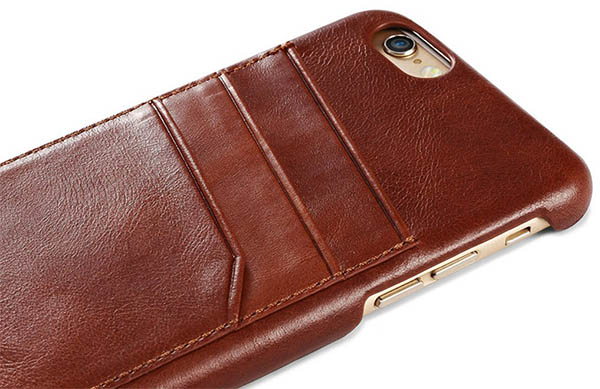 iCarer iPhone 6S Plus Vintage Card Slot Case