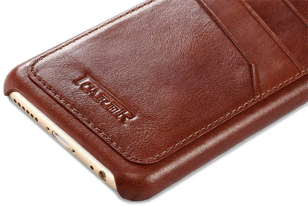iPhone 6 Plus iCarer Leather Case