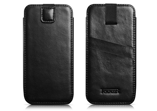 iCarer Vintage Straight Leather Wallet Case Cover For iPhone 6 Plus