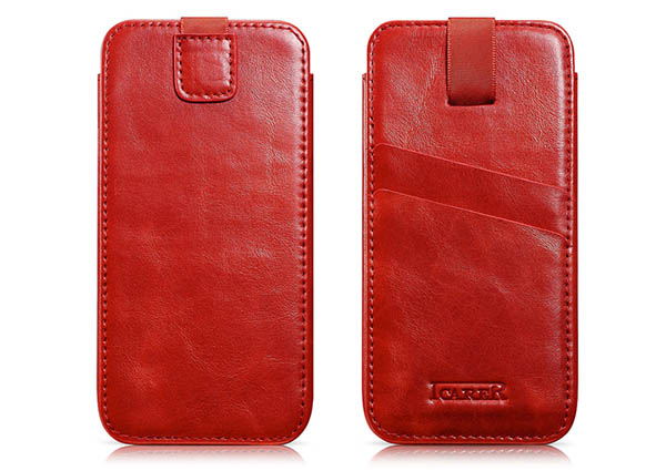 iCarer Leather Wallet Case Cover For iPhone 6 Plus