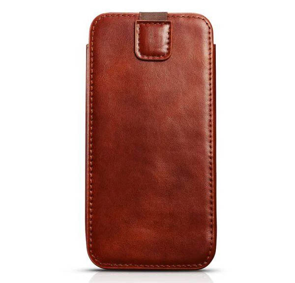 iCarer iPhone 6 Plus Straight Leather Wallet Case Cover