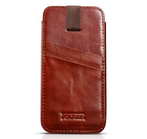 iCarer iPhone 6 Plus Vintage Straight Wallet Case Cover
