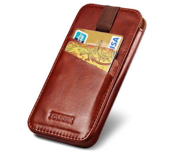 iCarer iPhone 6 Plus Straight Wallet Case Cover