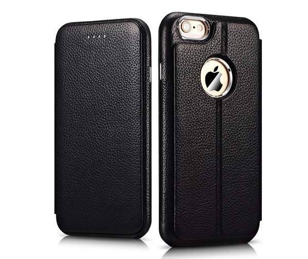 iPhone 6 Case iCarer Transformers Litchi Pattern Series Side Open Leather Wallet Case Cover